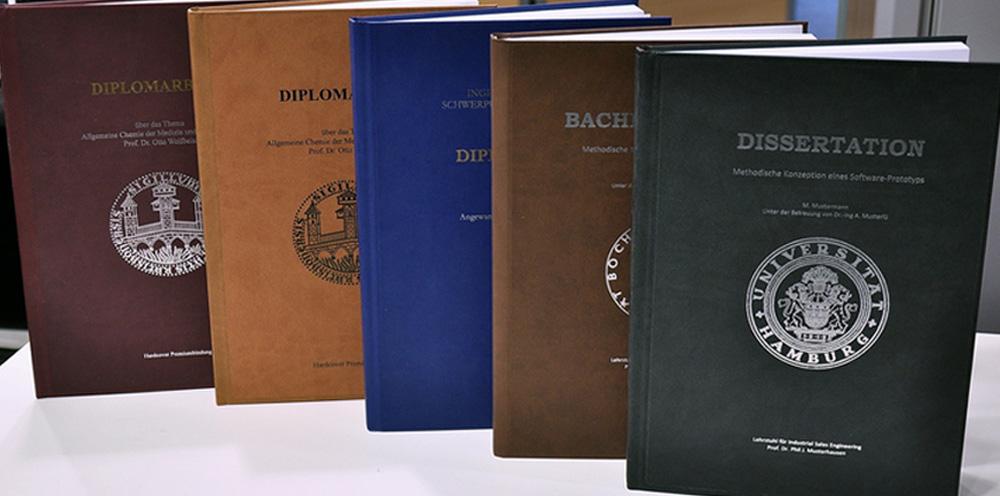 thesis drucken und binden kiel